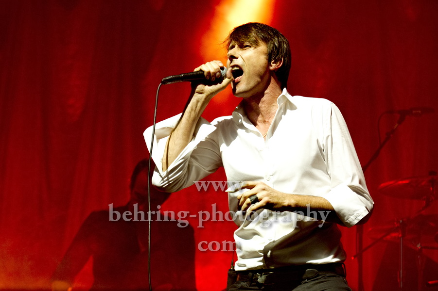 Brett Anderson, SUEDE, concert at the HUXLEYS on November 18, 2013 in Berlin, Germany,