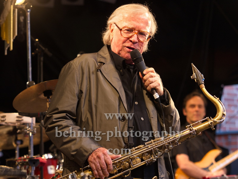 Klaus Doldinger - Passport Today: Tour 2012, Konzert bei JAZZ IN TOWN, Rathaushof, Rathaus Koepenick, Motiv: Doldinger