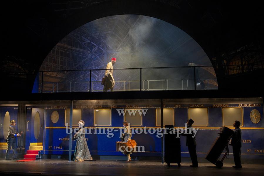 """""""Mord im Orientexpress"""", Komödie am Kurfürstendamm im Schiller Theater, Berlin, Premiere am 24.07.2021"""